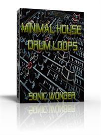 minimal house drum loops  - wave -