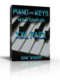 piano - keys  - waves multi samples  xxl pack -