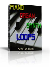 piano  organ  synth loops  - wave samples -