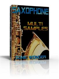 saxophone multi samples collection   - wave sample -