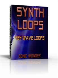 synth loops  - wave samples -