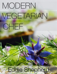 modern vegetarian chef by eddie shepherd