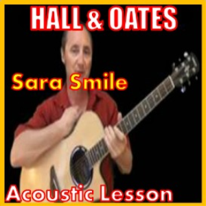 learn to play sara smile by hall and oates