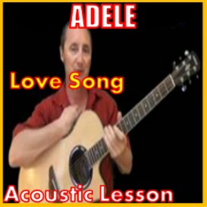 learn to play love song by adele
