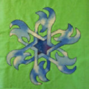 Spirit of Water applique pattern | Crafting | Sewing | Quilting