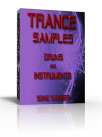 trance samples  - single drums - instruments  -  wave samples -
