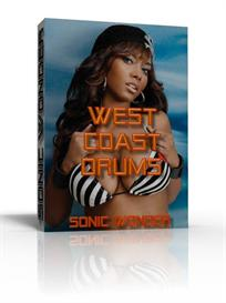 west coast drums  - producer wave drums -