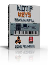 yamaha motif keys   - reason refill -