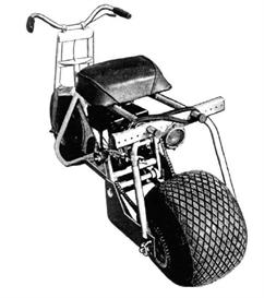 motorized bikes-scooters-mini-bikes-trail bikes-tote gote plans