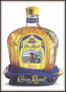 seagram's crown royal magazine ads package