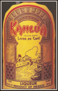 kahlua magazine ads package