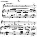 Das ist ein Flöten und Geigen Op.48 No.9, Low Voice in B minor,  R. Schumann (Dichterliebe). C.F. Peters. | eBooks | Sheet Music
