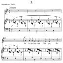 Hör' ich das Liedchen klingeln Op.48 No.10, Low Voice in E minor, R. Schumann (Dichterliebe).  C.F. Peters. | eBooks | Sheet Music