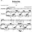 Im wunderschönen monat Mai Op. 48 No.1, Low Voice in C Sharp minor, R. Schumann (Dichterliebe).  C.F. Peters. | eBooks | Sheet Music