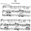 In der Fremde Op. 39 No.8, Low Voice in F-sharp minor, R. Schumann (Liederkreis).  C.F. Peters. | eBooks | Sheet Music