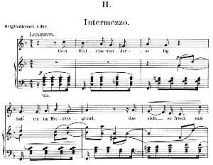 intermezzo op. 39 no.2,low voice in f major, r. schumann. c.f. peters.