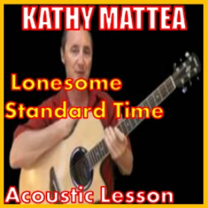 learn to play lonesome standard time by larry cordle