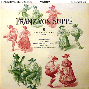 Suppé: Six Overtures - Philharmonia Promenade Orchestra/Henry Krips | Music | Classical