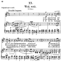 Weit, weit Op.25 No.20, Low Voice in E minor, R. Schumann (Myrthen). C.F. Peters.   eBooks   Sheet Music