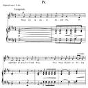 Wenn ich in deine Augen seh Op.48 No.4, Low Voice in D Major, R. Schumann (Dichterliebe). C.F.Peters.   eBooks   Sheet Music