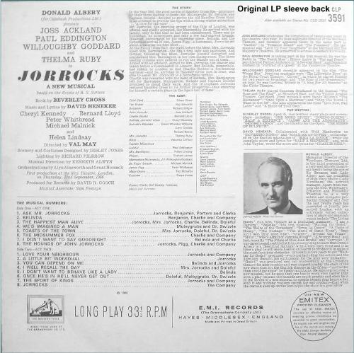 Third Additional product image for - Jorrocks: Original 1966 Cast Recording