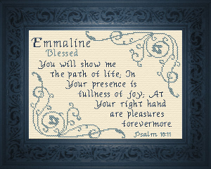 name blessings -  emmaline