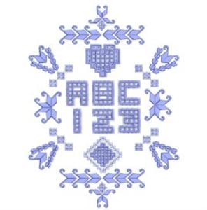 Hardangish Alphabet - EMD   Crafting   Embroidery