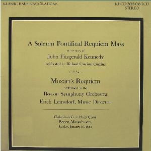 in memorium - john fitzgerald kennedy (1917-1963) - boston symphony orchestra/erich leinsdorf