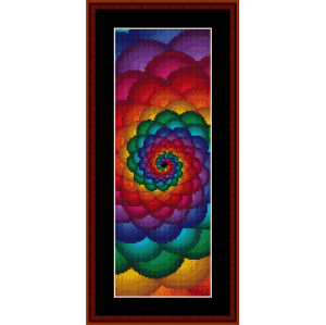 Fractal 53 Bookmark cross stitch pattern by Cross Stitch Collectibles | Crafting | Cross-Stitch | Other