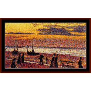 High Tide - Lemmen cross stitch pattern by Cross Stitch Collectibles | Crafting | Cross-Stitch | Wall Hangings