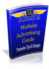 website advertising guide  with master resale rights