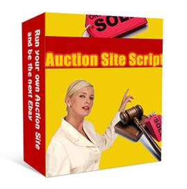 **new** auction site script with master resale rights