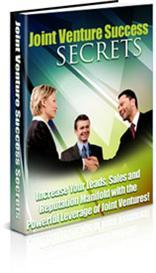 Joint Venture Success Secrets | eBooks | Business and Money