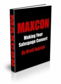 **new** maxcon : making your salespage convert master resale rights in