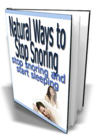 natural ways to stop snoring  with
