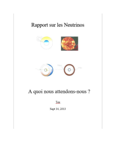 neutrino report french version