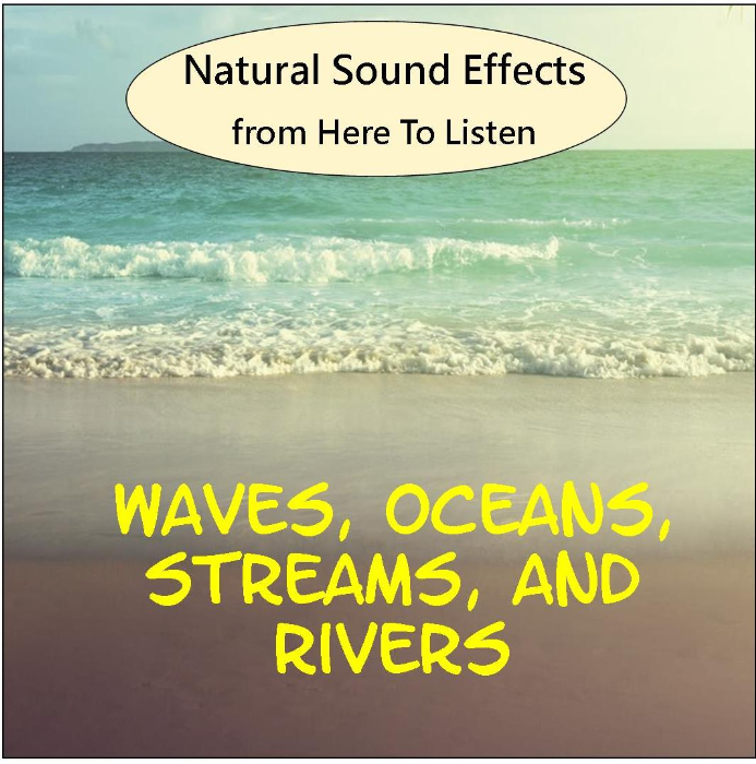First Additional product image for - Sound Effects Vol.2 Waves, Ocean, Running Stream, Rushing River