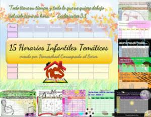 h.c.s - horarios tematicos infantiles