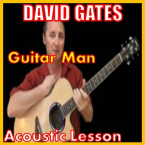 learn to play guitar man by david gates