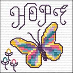 QS Hope | Crafting | Cross-Stitch | Religious