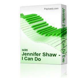 jennifer shaw - i can do everything through him