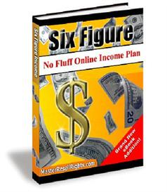 **new** 6 figure online income plan with master resale rights