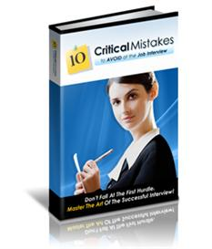 10 critical mistakes to avoid at the job interview - master resal