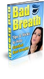 *new*stop bad breath ebook with master resale rights