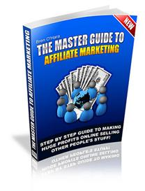 the master guide to affiliate marketing!  master resale rights include