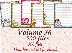printable stationary designs vol 36