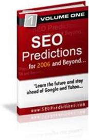 SEO Predictions Search Engine Optimization Secrets 2006 Master Resale | eBooks | Internet