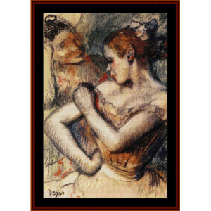 Dancer, 1896 - Degas cross stitch pattern by Cross Stitch Collectibles   Crafting   Cross-Stitch   Wall Hangings