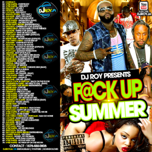 dj roy f@ck up summer dancehall mix 2015