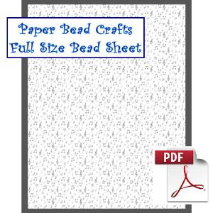 full sheet music bead sheet
